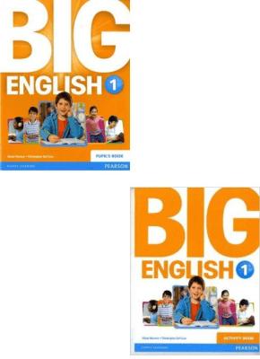 Big English 1. Pupil's Book (Podręcznik) / Activity Book (Ćwiczenia). Język angielski. - HerreraMario, SolCruzChristopher - Książki Podręczniki do szkół podst. i średnich