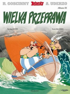 Asteriks. Album 22 Wielka przeprawa - GoscinnyRene - Książki Komiksy