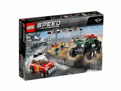 LEGO® Speed Champions. 1967 Mini Cooper S Rally oraz 2018 Mini John Cooper Works Buggy. 75894.