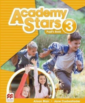 Academy Stars 3 PB + kod online MACMILLAN - CadwalladerJane, BlairAlison - Książki Podręczniki do szkół podst. i średnich