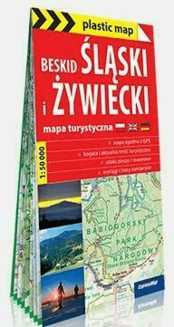 Beskid Ślaski i Żywiecki. - praca zbiorowa - Książki Mapy, przewodniki, książki podróżnicze