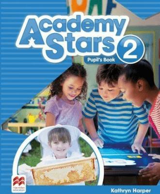 Academy Stars 2 PB + kod online MACMILLAN - HarperKathryn - Książki Podręczniki do szkół podst. i średnich