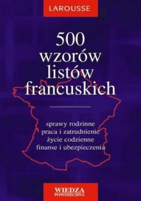 500 wzorów listów francuskich - Krajewska-WojciechowskaEwa - Książki Książki do nauki języka obcego