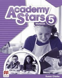 Academy Stars 5 WB MACMILLAN - Susan Clarke - Książki Książki do nauki języka obcego
