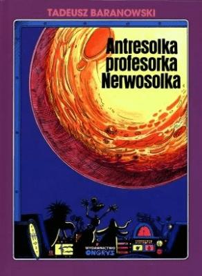 Antresolka profesorka Nerwosolka - BaranowskiTadeusz - Książki Komiksy