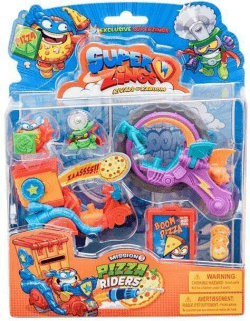 Super Zings. Pizza Riders.