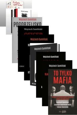 PAKIET 14x SUMLIŃSKI MASA ABW TO TYLKO MAFIA - SumlińskiWojciech, BudzyńskiTomasz, SokołowskiJarosławMasa - Książki Reportaż, literatura faktu