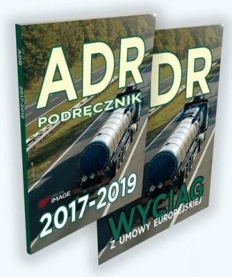 ADR Podręcznik 2017-2019. ADR Wyciąg z umowy europejskiej. - praca zbiorowa - Książki Podręczniki do szkół podst. i średnich