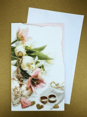 Karnet Ślub + koperta ARGUS - Argus - Książki Literatura piękna