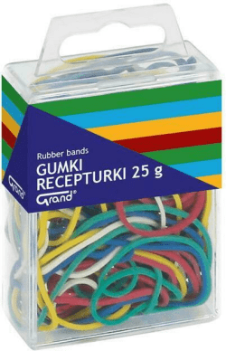 Gumki recepturka 25g mix T4