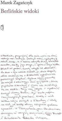 Berlińskie widoki - ZagańczykMarek - Książki Biografie, wspomnienia