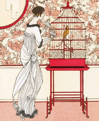 Karnet 17x14cm z kopertą Ah! Le Bel Oiseau - Museums & Galleries - Książki Kalendarze, gadżety i akcesoria
