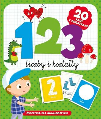 123 liczby i kształty - praca zbiorowa - Książki Książki dla dzieci