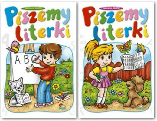 (043) Piszemy literki MIX - praca zbiorowa - Książki Książki dla dzieci