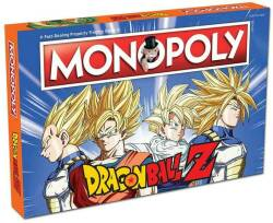 Monopoly. Dragon Ball Z.