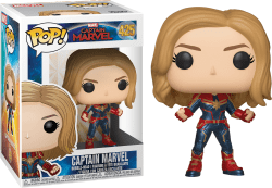 Captain Marvel. Figurka Funko Pop.