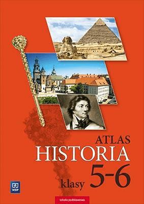 Atlas SP 5-6 Historia WSiP - Opracowaniezbiorowe - Książki Podręczniki do szkół podst. i średnich