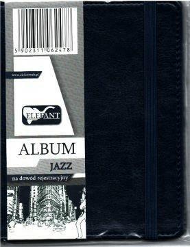 Album na dowód rejestracyjny Jazz granat ELEFANT - Elefant - Książki Kalendarze, gadżety i akcesoria