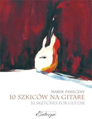 10 szkiców na gitarę solo - Marek Pasieczny - Książki Poradniki i albumy