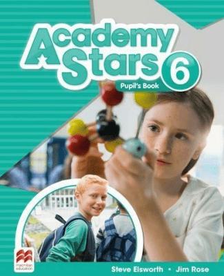 Academy Stars 6 PB + kod online MACMILLAN - ElsworthSteve, RoseJim - Książki Książki do nauki języka obcego