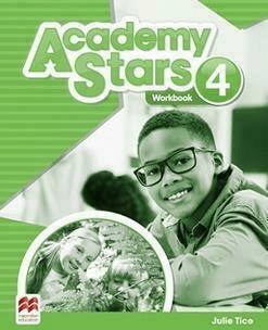 Academy Stars 4 WB MACMILLAN - Julie Tice - Książki Książki do nauki języka obcego