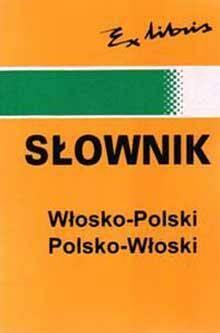 Słownik podr. pol-włos-pol EXLIBRIS