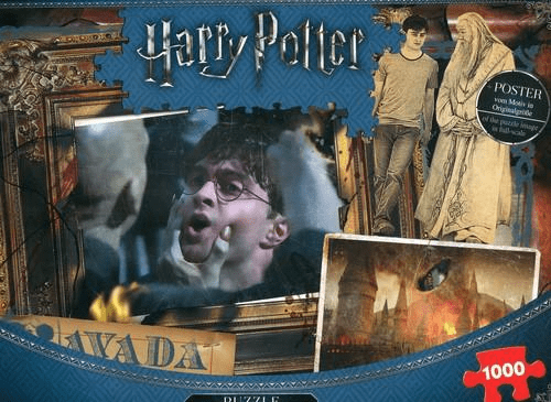 Puzzle 1000 Harry Potter Plakat Winning Moves Tantispl
