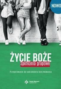 Życie Boże. Spotkania grupowe.Przygotowanie do sak - ks.Wojciech Lechów - Książki Literatura piękna