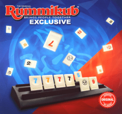 Rummikub Mundo Exclusive.