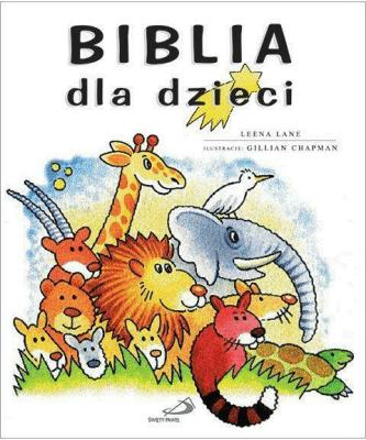 Biblia dla dzieci TW - LaneLeena - Książki Religioznawstwo, nauki teologiczne