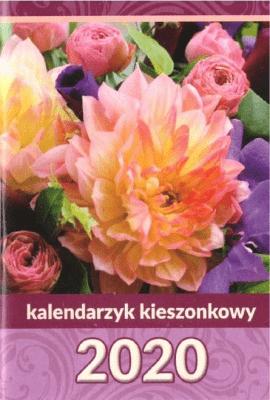 Kalendarz 2020 kieszonkowy MIX tektura ANIEW - Aniew - Książki Kalendarze, gadżety i akcesoria