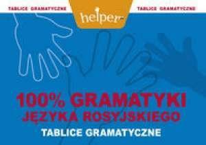 100% Gramatyki j.rosyjskiego Tablice KRAM - MachnaczAndrzej - Książki Książki do nauki języka obcego