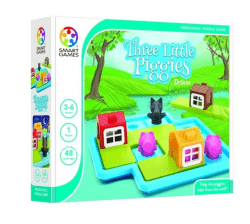 Three Little Piggies. Deluxe. Smart Games.