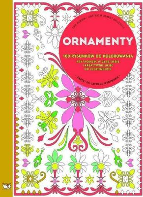 100 rysunków do kolorowania. Ornamenty - MarsonEric - Książki Poradniki i albumy