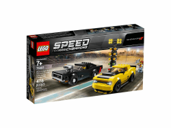 LEGO® Speed Champions. 2018 Dodge Challenger SRT Demon oraz 1970 Dodge Charger R/T. 75893.