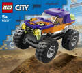 City - LEGO® City. Great Vehicles. Monster truck. 60251.