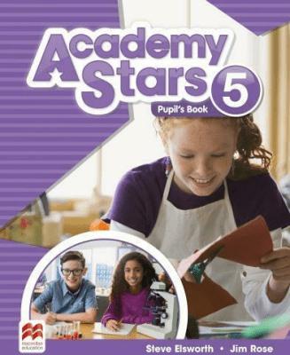 Academy Stars 5 PB + kod online MACMILLAN - ElsworthSteve, RoseJim - Książki Podręczniki do szkół podst. i średnich