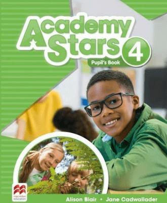 Academy Stars 4 PB + kod online MACMILLAN - CadwalladerJane, BlairAlison - Książki Książki do nauki języka obcego