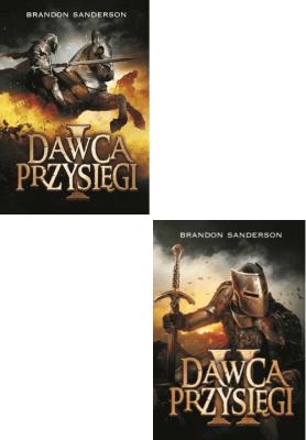 Dawca Przysięgi. Archiwum Burzowego Światła. Tom 1,2. - SandersonBrandon - Książki Fantasy, science fiction, horror