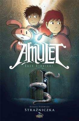 Amulet. Strażniczka. Tom 1. - KibuishiKazu - Książki Komiksy