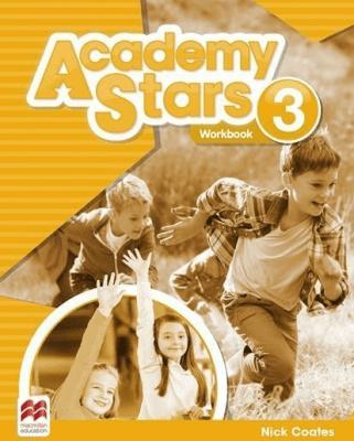 Academy Stars 3 WB MACMILLAN - Nick Coates - Książki Książki do nauki języka obcego