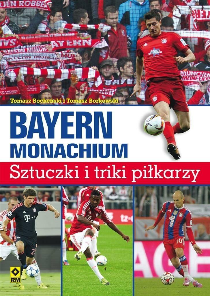 Bayern Monachium. Sztuczki i triki piłkarzy w.2