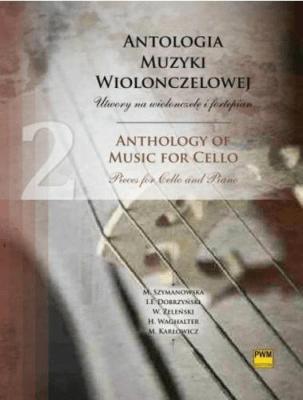 Antologia muzyki wiolonczelowej z.2 PWM - praca zbiorowa - Książki Podręczniki do szkół podst. i średnich