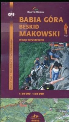 Babia Góra i Beskid Makowski mapa - Sygnatura - Książki Mapy, przewodniki, książki podróżnicze
