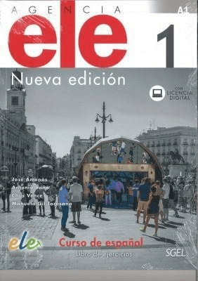 Agencia ELE 1 Ćwiczenia nueva edicion - praca zbiorowa - Książki Książki do nauki języka obcego