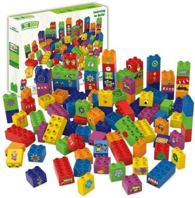 Klocki Ekologiczne Duży Zestaw Biobuddi Zabawki Klocki