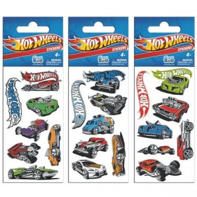 Hot Wheels. Naklejki Sticker BOO silver - Sticker Boo - Książki Kalendarze, gadżety i akcesoria