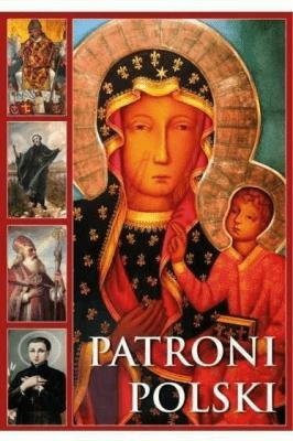 Album - Patroni Polski - Maryon-GolonkaJoanna - Książki Książki naukowe i popularnonaukowe