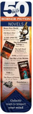 50 BEST - Science Fiction - magnetyczna zakładka d - IF - Książki Książki naukowe i popularnonaukowe
