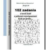 102 zadania z teorii liczb z pełnymi... - RegelWiesława - Książki Książki naukowe i popularnonaukowe
